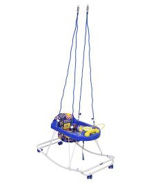 New Natraj 3 In 1 Walker Teddy Print - Blue