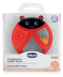 Chicco Funny Relax Teether - Red
