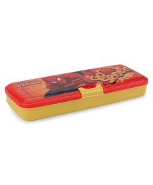 Marvel Spider Man Pencil Box - Yellow And Red
