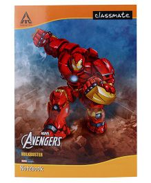 Marvel Classmate Long Notebook Single Line Ruling - 180 Pages