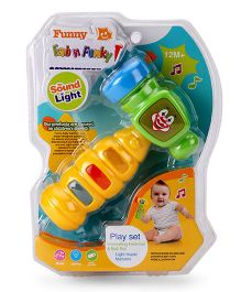 Kids Musical Hammer - Yellow And Green