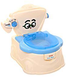 Fab N Funky Baby Potty Eye Print Blue