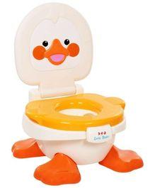 Fab N Funky Baby Potty Duck Shape Yellow