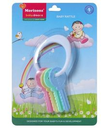Morisons Baby Dreams Baby Rattle Keys