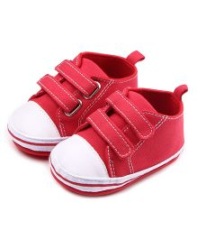 Dazzling Dolls Charming 2 Strap Shoes - Red & White