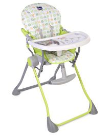 Chicco Pocket Meal High Chair - Green
