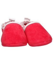 Bootie Pie Shoes Style Booties - Red White