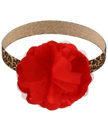 Little Cuddle Petals Headband - Red