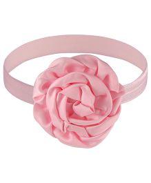 Little Cuddle Rose Design Headband - Pink