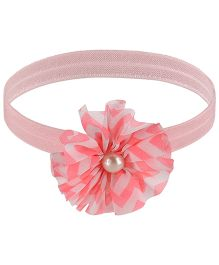 Little Cuddle Flower Design Headband - Pink