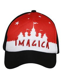 Imagica Castle Printed Kids Cap - Black