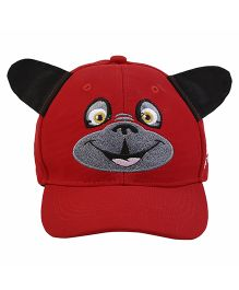 Imagica Bow Wow Character Kids 3D Cap - Red