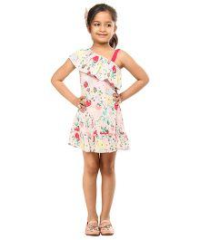 Kids On Board Fruit Print Dress - Multicolor