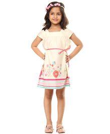 Kids On Board Diva Dress - Off White