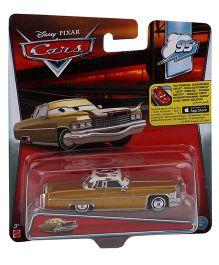 Disney Pixar Cars Tex Dinoco - Golden