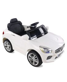 Mee Mee Battery Operated Ride On Car - White