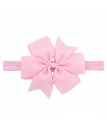 Bellazaara Boutique Ribbon Bow Headband - Pink