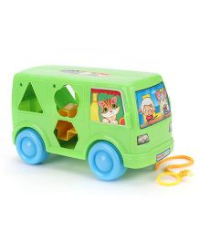 Shape Sorter Bus - Green