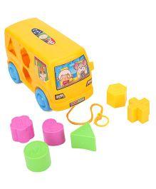 Shape Sorter Bus - Yellow