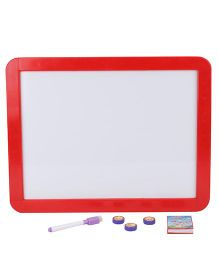 Drawing Board - White And Red
