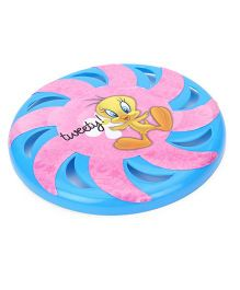 Tweety Printed Flying Disc - Blue And Pink