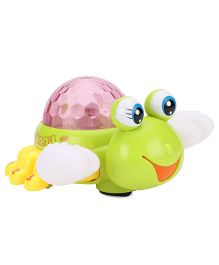 Imagician Playthings Kids Villa Fab Crab Light Projector - Green