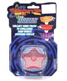 Spinz Orbitz Top Star Shape - Red