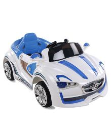 Mee Mee Battery Operated Car CH-BLJ-9988 - White
