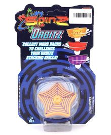 Spinz Orbitz Top Star Shape -  Orange