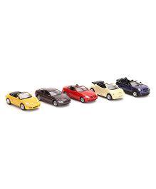 Welly Die Cast Nex model Car Set pack Of 5 - Multi color