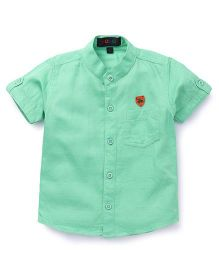 Robo Fry Solid Shirt Bicycle Patch - Green