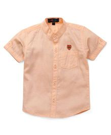 Robo Fry Solid Shirt Bicycle Patch - Orange