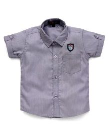 Robo Fry Half Sleeves Shirt - Grey
