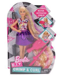 Barbie DIY Crimp And Curls - 29 cm