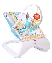 Fisher Price Curve Bouncer Chevron - White