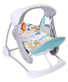 Fisher Price TA Swing Chevron - White