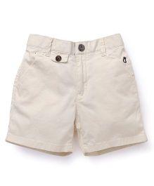 Gini & Jony Shorts With Belt - Off White