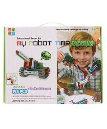 My Robot Time Robot Building Kit - 195 Pieces