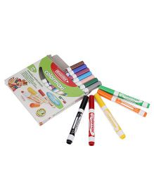 Fibracolor Sketch Pens With Washable Ink - Pack of 12