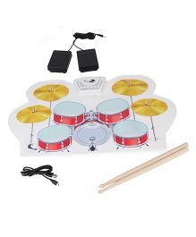 Sirius Toys Roll Up Drum Kit - Multicolor