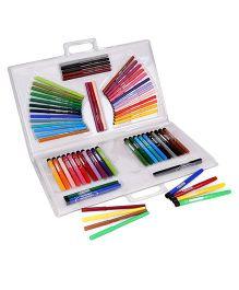 Fibracolor Top Fun Colors Sketch Pens Multicolor - 66 Pieces