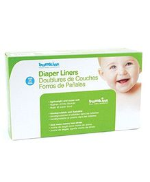 Bumkins Flushable Diaper Liner Neutral - Pack Of 100