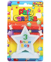 Birthday Candles - 3