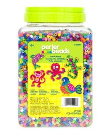 Perler Beads Count Bead Jar Multi Mix Colors - 22000 beads