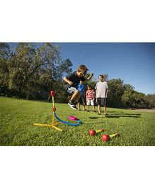 D Plus L Company Ultra Stomp Rocket - Yellow Red