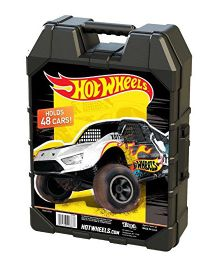 Hot Wheels Molded 48 Car Case - Black (Colors and Styles May Vary)