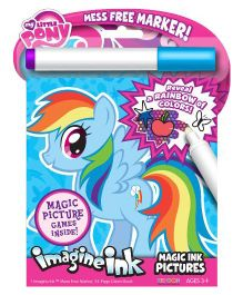 Bendon My Little Pony Imagine Ink Book - Pink And Blue