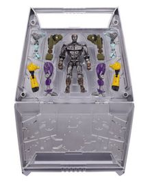Real Steel Build and Brawl Carrying Case And Atom Basic Figure Set - 12.7 cm