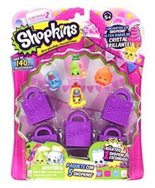 Ibhejo Shopkins Season Pack - Purple