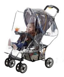 HIS Juveniles Standard Stroller Weather Shield - Transparent